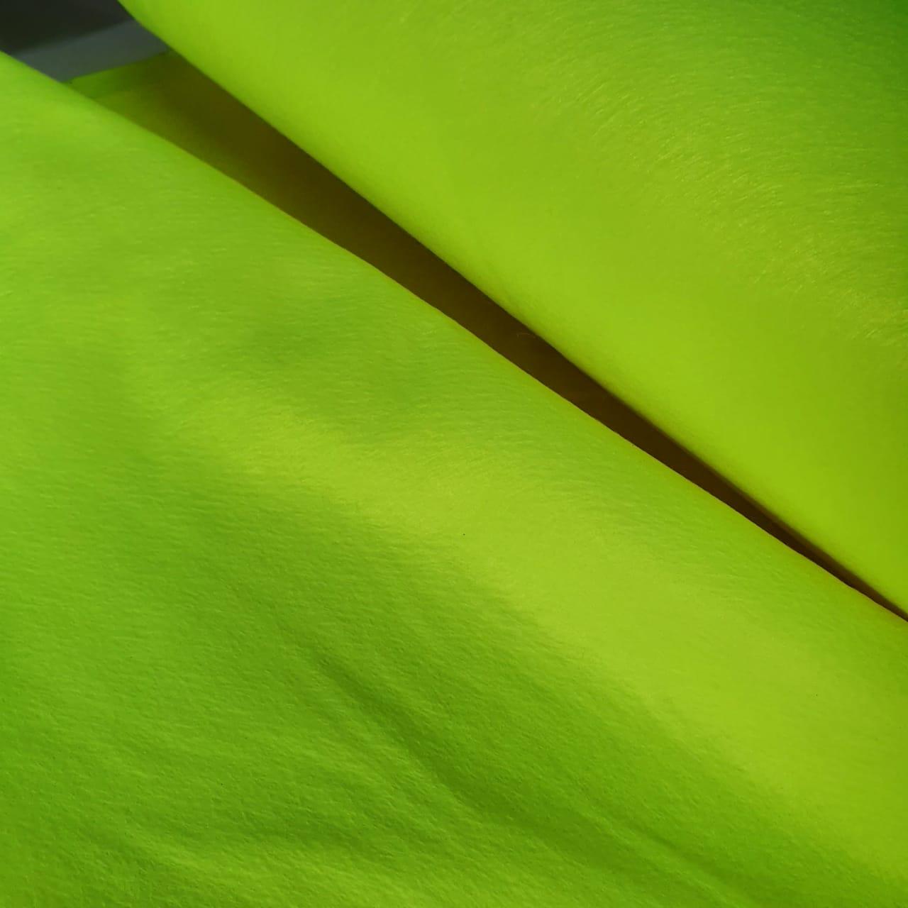 Feltro Verde Fluorescente Ober