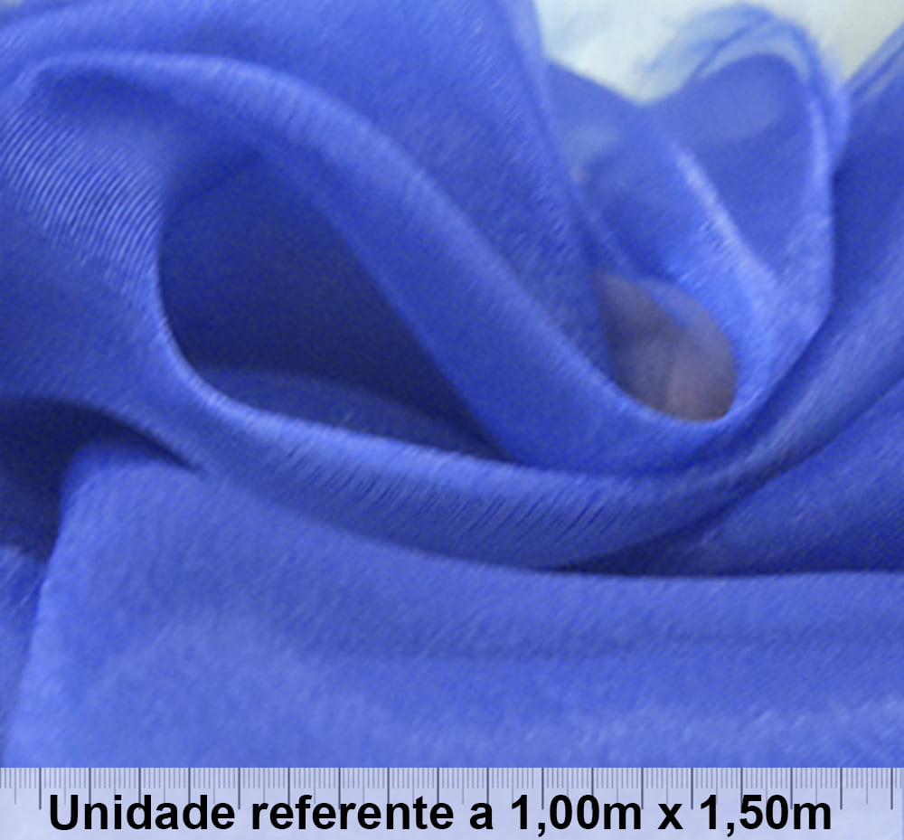 Organza Azul Royal