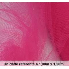 Tule Fantasia Rosa Pink - PEÇA FECHADA