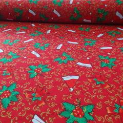 Oxford Natalino Touca De Papai Noel  10 metros