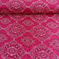 Tricoline Bandana Pink Marantex 10 Metros