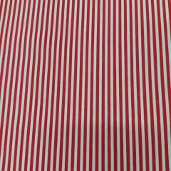 Tricoline Listrado Vermelho Preto 10 metros