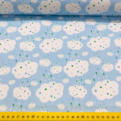 Tricoline Nuvem Azul Marantex 10 Metros