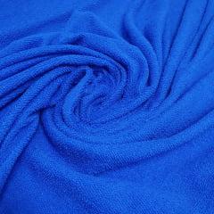 Atoalhado Poly Azul Royal