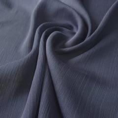 Chiffon Lurex Azul Marinho Noite