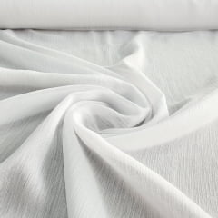 Chiffon Lurex Branco