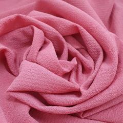 Crepe Bubble Rosa Queimado