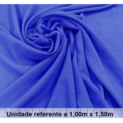 Crepe Bubble Azul Royal