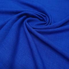 Linho Poliéster Azul Royal