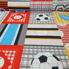 Percal 150 Fios Futebol