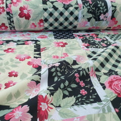 Percal Patchwork Floral