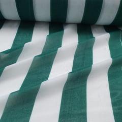 Chiffon Estampado Listrado Verde 2