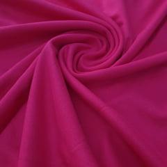 Malha Ribana Punho Rosa Pink