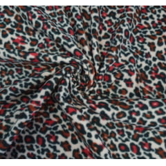 Tecido Soft Novo Animal Print Rosa