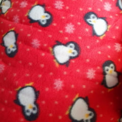 Tecido Soft Pinguins