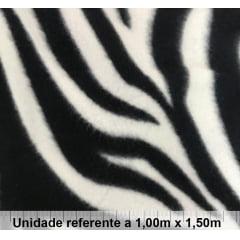 Tecido Soft Zebra