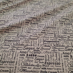 Tricoline Exclusiva Coffee Bege