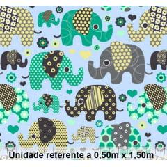 Tricoline Exclusiva Marantex Elefante 2