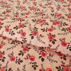 Tricoline Mista Floral 11