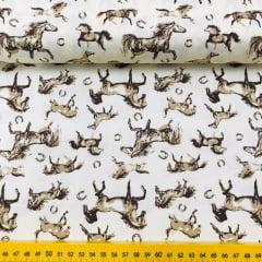 Tricoline Exclusiva Marantex Cavalos