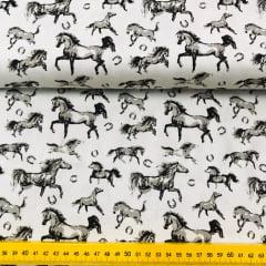 Tricoline Exclusiva Marantex Cavalos 2