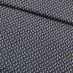 Tricoline Camisaria Caxemira Azul Marinho