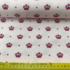 Tricoline Coroa Imperial Rosa