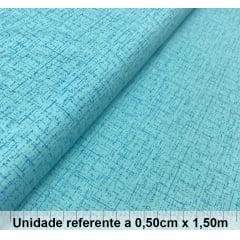 Tricoline Rústica Azul