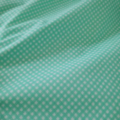 Tricoline Mista Xadrez Verde