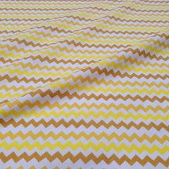Tricoline Zigzag Amarelo
