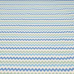 Tricoline Zigzag Azul
