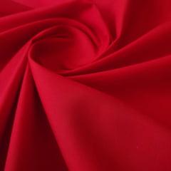 Tricoline Mista Lisa Vermelha