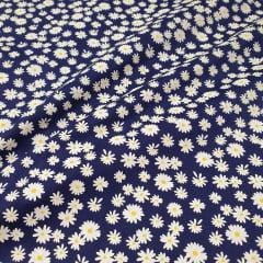 Tricoline Margarida Azul Marinho