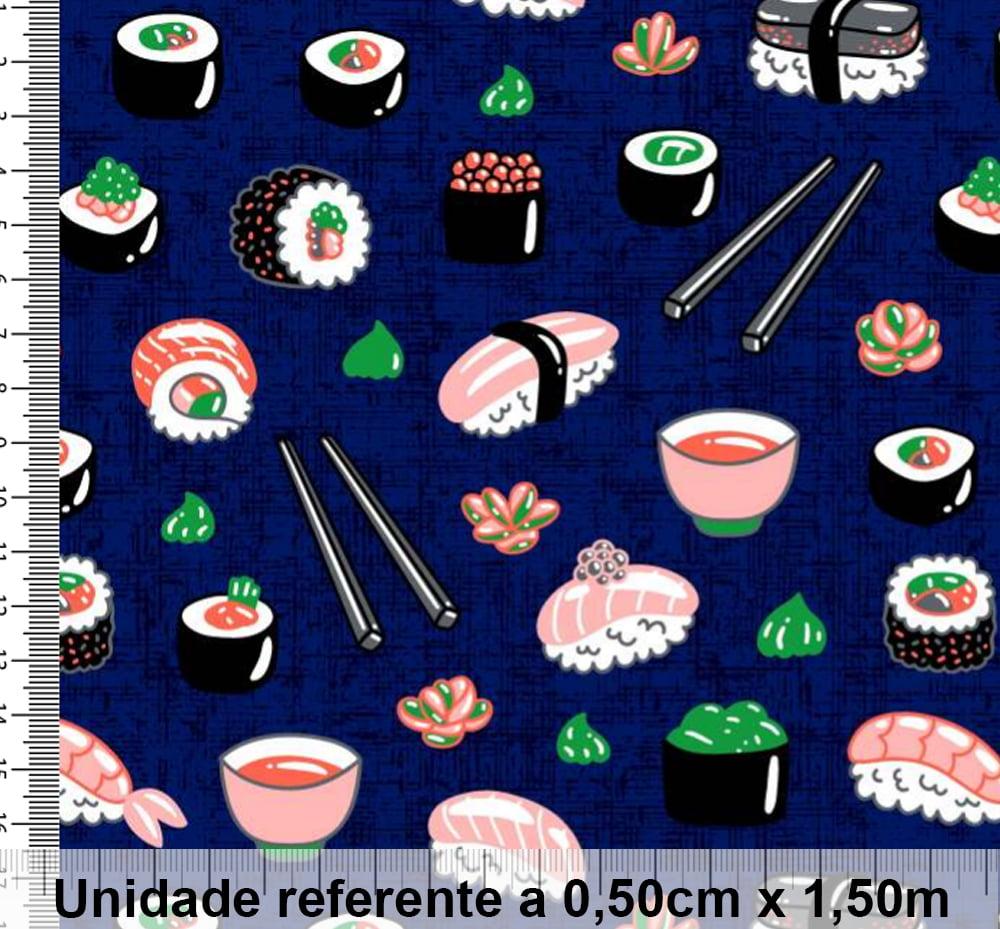 Tricoline Exclusiva Marantex Sushi