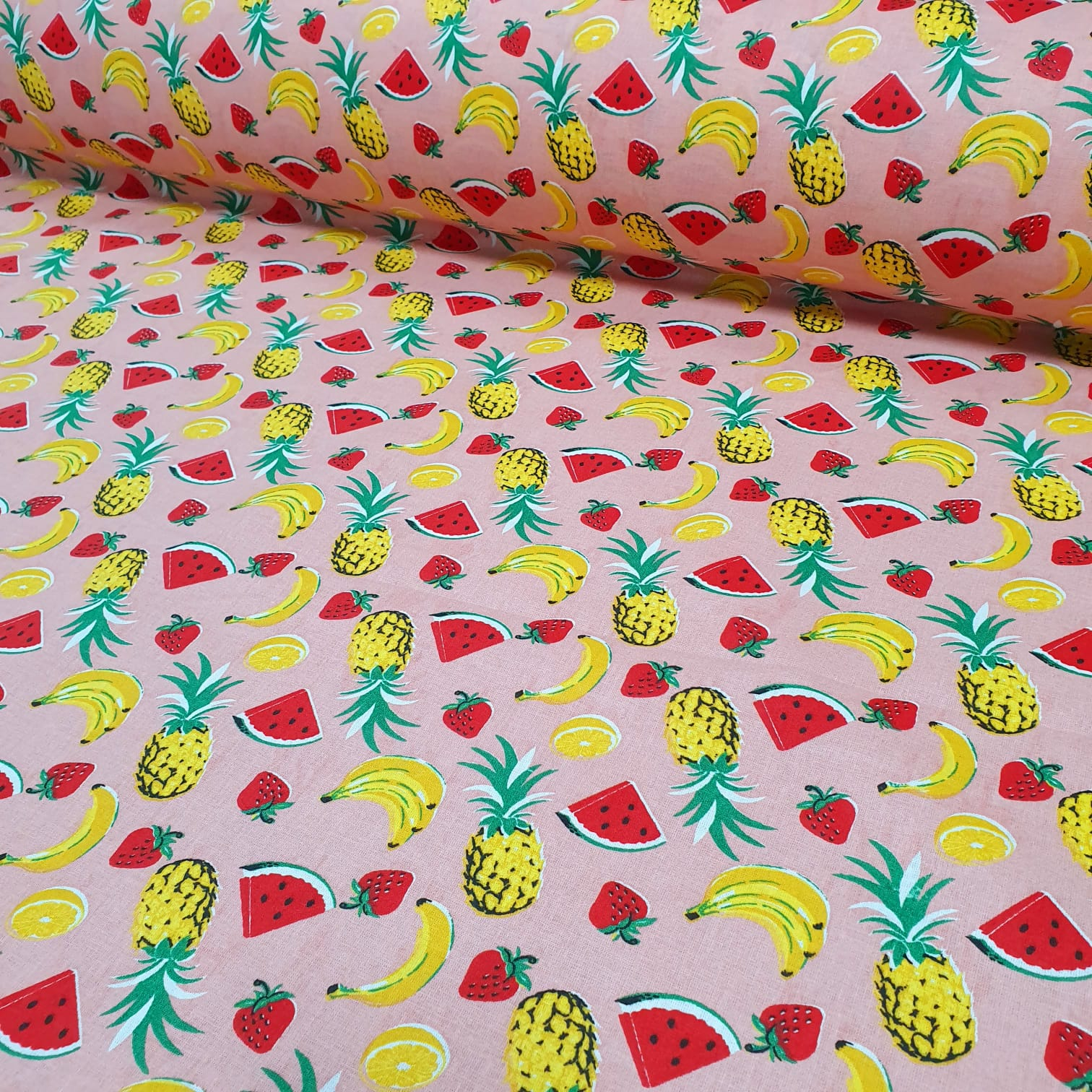 Tricoline Frutas Rosa SG