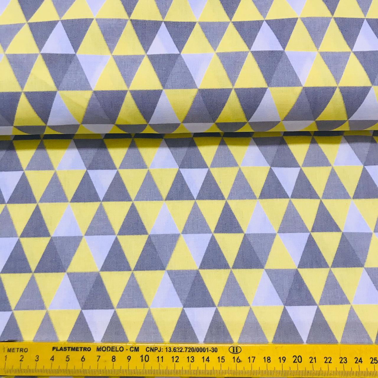 Tricoline Triângulo Amarelo