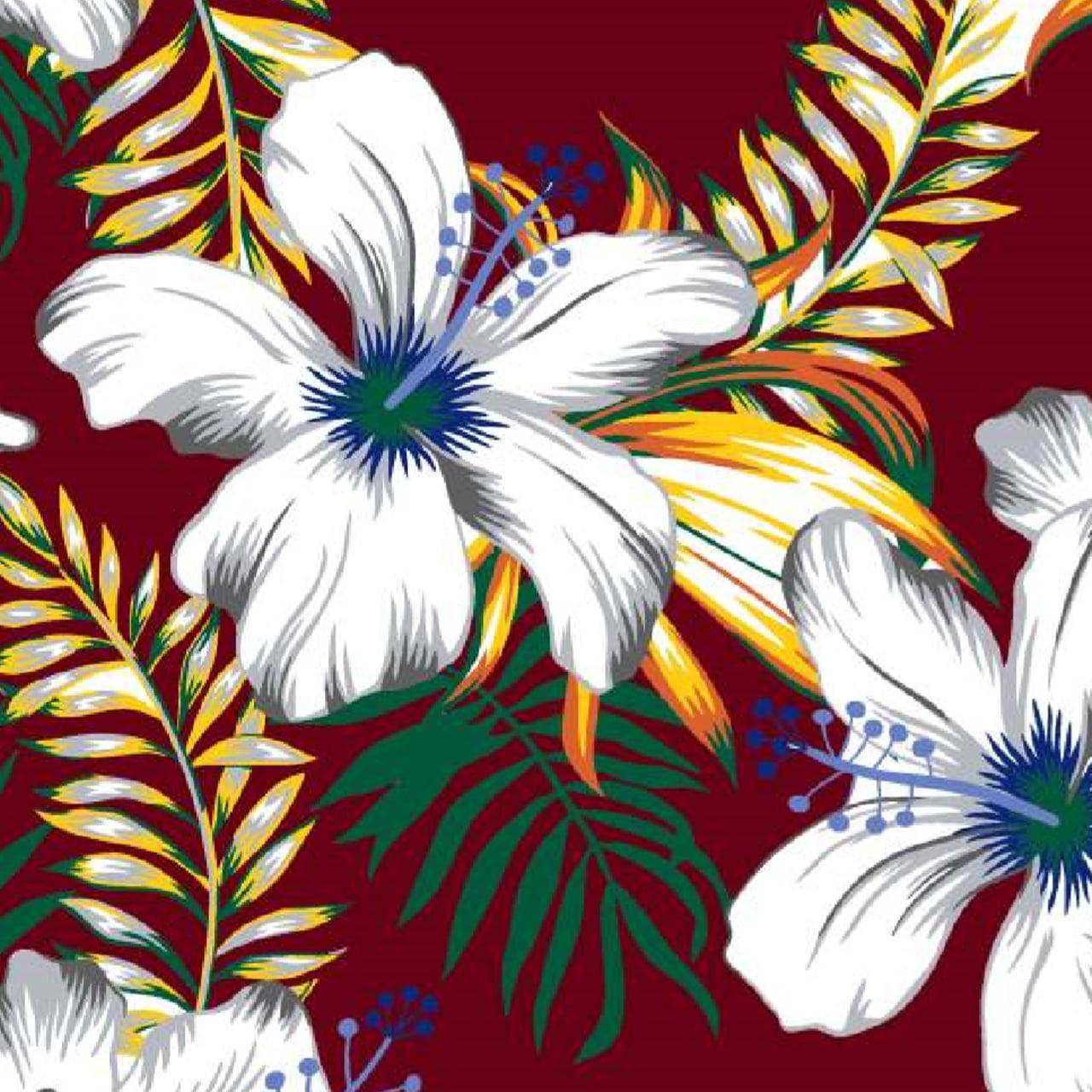Viscose Estampada Linha Florais Marantex 21